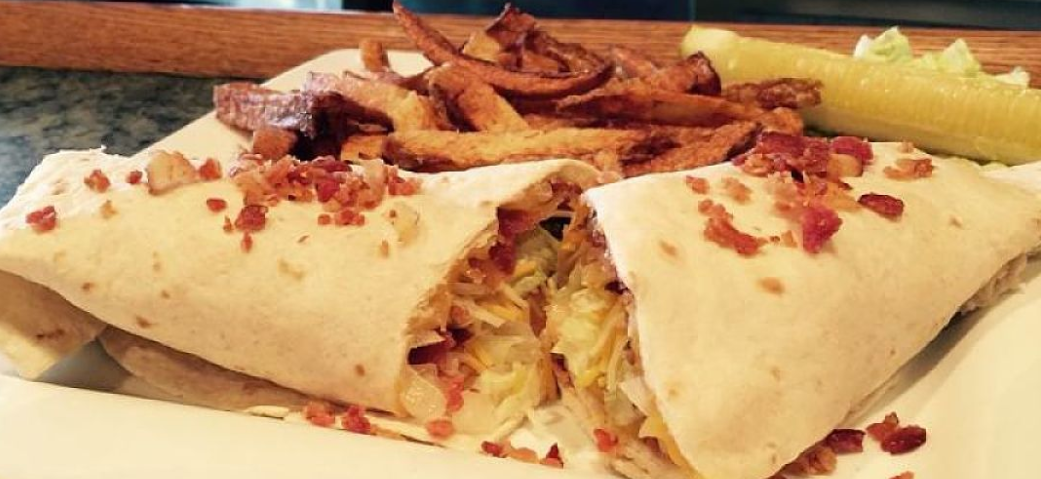 Shooti's BLT Wrap